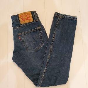 Levi's 511 Slim Fit Mid-Rise Jeans 28